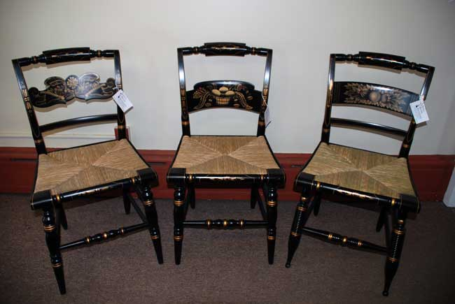 Charmant Authenticated Hitchcock Chairs From Still River Antiques