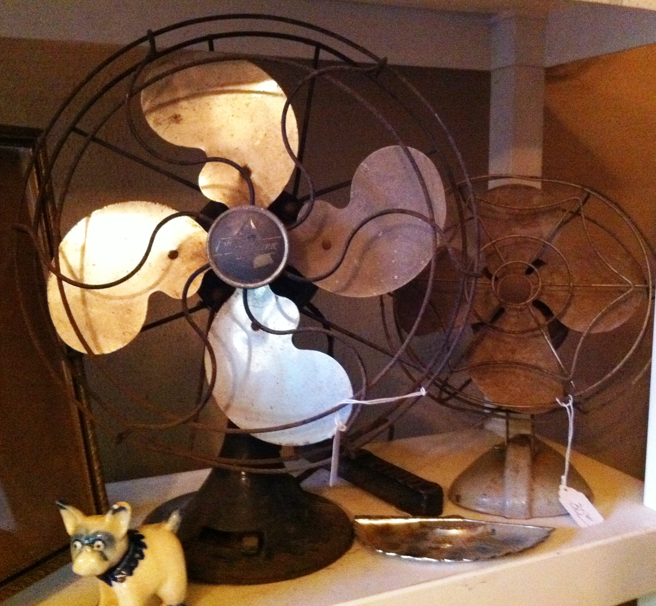 Mini Restoration Of A Vintage Fan The Attic Birds