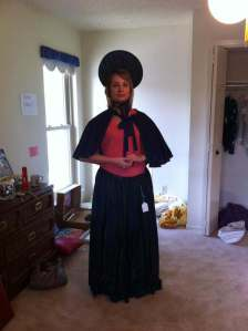 Emily in Bonnett