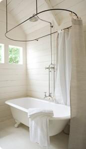 clawfoottub shower