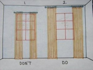 ApartmentTherapy curtain suggestion
